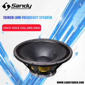 PRO Audio High Power Professional Speaker 300W Audio Woofer pictures & photos