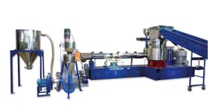PP, PE Film Granulation Line (Plastic Recycling Machine) pictures & photos
