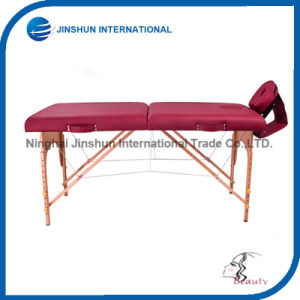 Portable Wooden Folding Massage Table (JSI-0001) pictures & photos