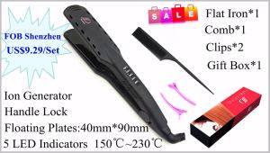 Professional Hair Straightener with Ionizer for Promotion pictures & photos
