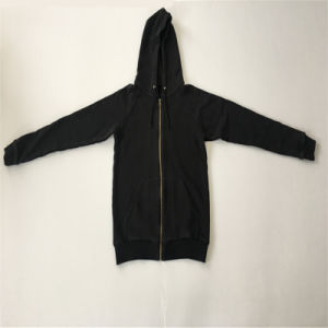Zip up Pocket Coat in Man Hoodie
