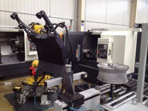 Bzxl22 Wheel Machining Machine Cell pictures & photos