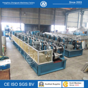 Automatic Sizes Changed C Panel Z Panel Purlin Roll Forming Machine pictures & photos