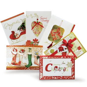 High Quality Christmas Custom Greeting Card pictures & photos