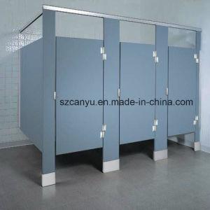 Compact Laminate Sheet Airport Toilet Cubicle Partition pictures & photos