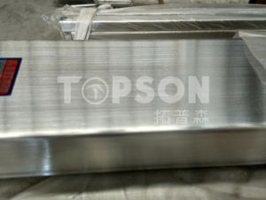 Welded/ Seamless Stainless Steel Rectangular Pipe pictures & photos