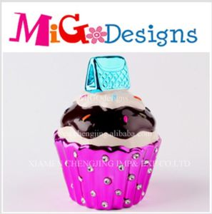Best Seller Attractive Cupcake Candy Canister pictures & photos