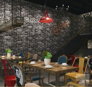 Brick 3D Wall Paper for Room Decoration pictures & photos
