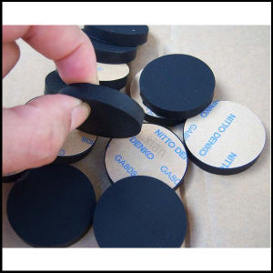 EVA EPDM PU Silicone Viton FKM Adhesive Shockproof Rubber Washer pictures & photos