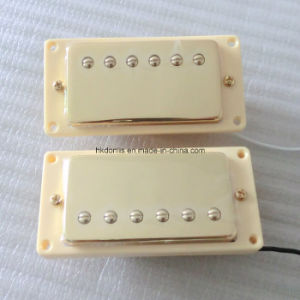 Gold Color Ceramic Wax Potted Lp Guitar Pickup pictures & photos