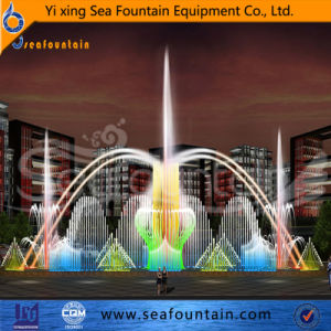 Steel Floating Tank Color Changing Dancing Floating Fountain pictures & photos