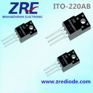 10A Sr1040fct Thru Sr10200fct Schottky Barrier Rectifier ITO-220ab Package pictures & photos