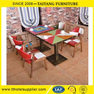 Restaurant America Style Dining Table and Chair Wholesale pictures & photos
