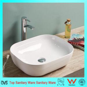 Hot Selling European Design Thin Edge Art Basin/Bathroom Sink pictures & photos