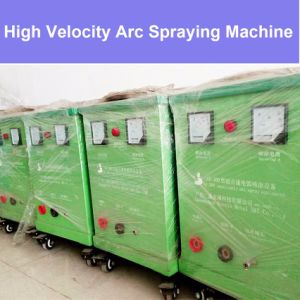 High Velocity Arc Spray Painting Machine / Metallic Zinc Aluminum Nickel Alloy Wire Thermal Spraying Temperature Resistant Coating Equipment with Gun pictures & photos