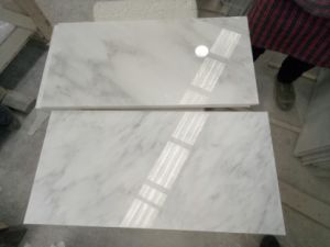 Oriental White Marble, Statuary White Marble Tiles, Wall Cladding Flooring Tiles pictures & photos
