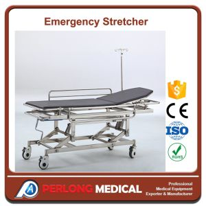 New Arrival Stainless Steel Emergency Stretcher He-5 pictures & photos