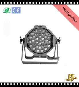 Super Bright Zoom LED PAR Can Lights 30X3w Rgbwy 5-in-1 Portable Stage Lighting
