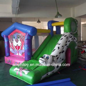Inflatable Dog Bouncer Combo/Inflatable Bouncer with Slide pictures & photos