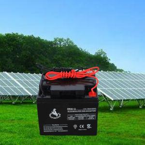 12V 38ah Maintenance Free VRLA Solar Batteries Lead Acid Battery pictures & photos