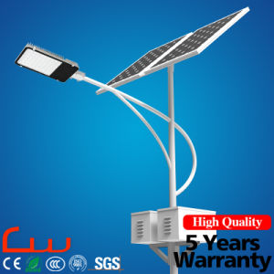 60W Integrated LED Solar Street Light with Post pictures & photos