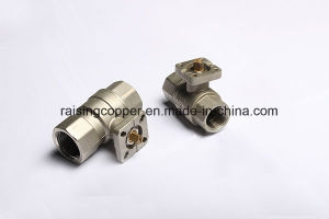 Brass Ball Valve with ISO5211 Mount Flange pictures & photos