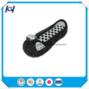 Latest Design High Quality Satin Soft Sole Ballerina Slippers pictures & photos