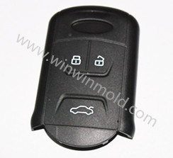 Car Key Double Shot Mold pictures & photos