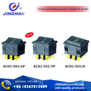 Kcd2-503 Momentary Switch/ 2 POS/ 3 POS Rocker Switch pictures & photos