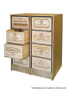 8 Boxs Drawer Wooden Customize Display Rack with Wine Box pictures & photos