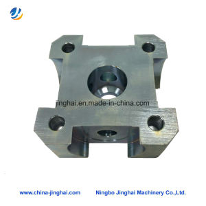 CNC Machining Square Stainless Steel Bearing Pedestal pictures & photos
