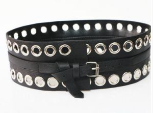 Fashion Waist Belt with Big Eyelet pictures & photos