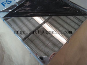 Zpss 316L 1500*3000mm Mirror Stainless Steel Decorative Sheet with Double PVC Film pictures & photos