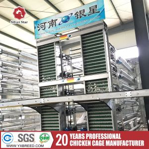 Full Automatic Hot Galvanized H Type Chicken Cage for Poultry House Design pictures & photos