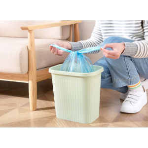 13 Gallon Trash Bag Embossed Disposable Garbage Bag pictures & photos