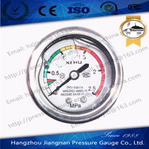 50mm 2′′ Stainless Steel Oil Filled Pressure Gauge pictures & photos