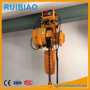 3t Electric Chain Hoist with Overload Protection pictures & photos