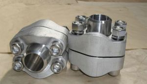 SAE BSPP Threaded Flange with Thread for Hydraulic Cylinder pictures & photos