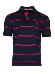 2017 New Design Customized Men Cotton Fashion Stripe Short Sleeve Polo Shirts T-Shirts Clothing (S8281)