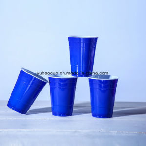 Cold Drink 12oz PS Plastic Red Party Cup pictures & photos