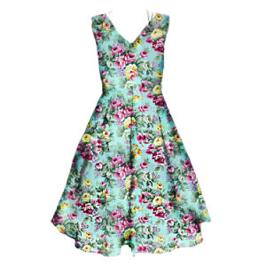 2017 Plus Size Women Clothing Summer Evening Party Dress Sleeveless pictures & photos