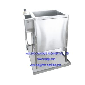 Round Type Water Dropping Table Used for Poultry Slaughtering