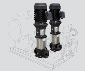 Stainless Steel Evm Vertical Multistage Pump pictures & photos