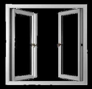 Customized UPVC Casement Window PVC Sliding Window and Door pictures & photos
