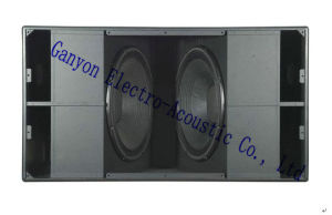 Dual 18 Inch Professional Subwoofer, S8028, High Power Loudspeaker pictures & photos