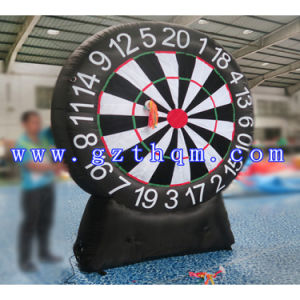 2017 Best Selling Inflatable Dart Board Game, Single or Double Sides Inflatable Soccer Darts Sport/3m, 4m, 5m Inflatable Dart Board Game pictures & photos