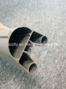 Customized Complex Section Anodised Aluminium Extrusion Tube pictures & photos