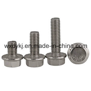 DIN 6921 Stainless Steel Hex Washer Head Flange Bolt pictures & photos