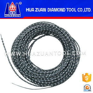 High Quality Rubber Diamond Granite Wire Saw for Europen Market pictures & photos