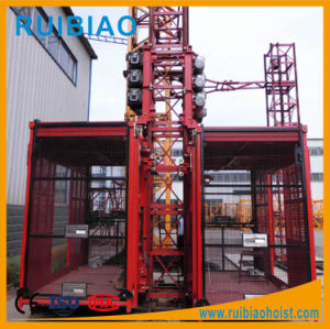 Factory Price Gjj Sc270/270g Double Cage Passenger Hoist pictures & photos